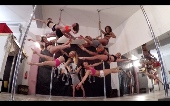 pole dance villeneuve loubet